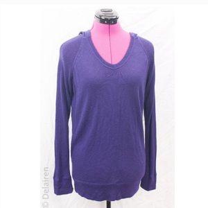 Lululemon Purple Knit Long Sleeve